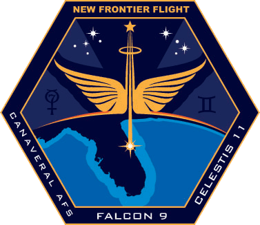 New Frontier Flight Mission Patch