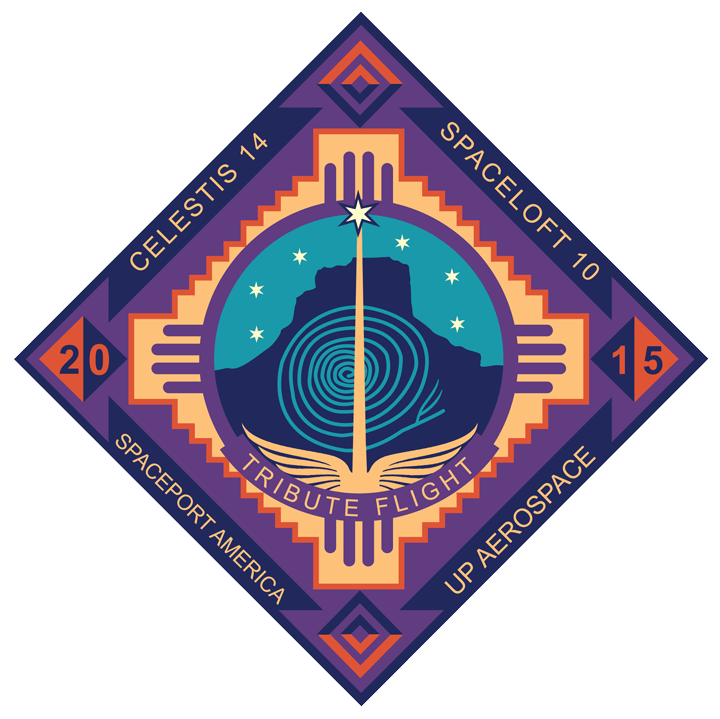 Tribute Flight Mission Patch