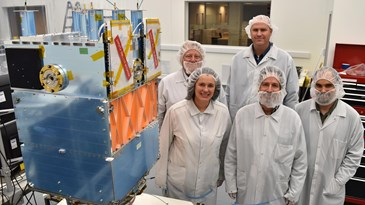 The OTB-1 satellite clean room