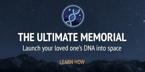 Launch your loved one's DNA to space as the ultimate memorial