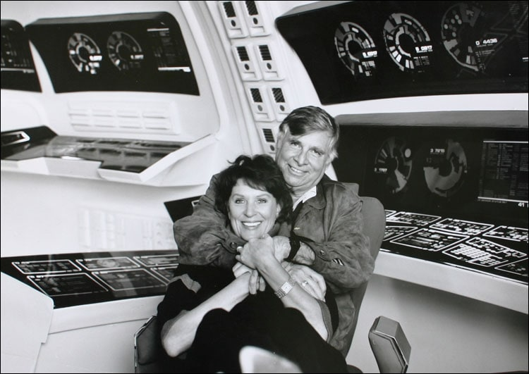 Gene and Majel Roddenberry