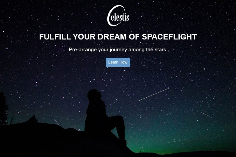 Fulfill your dream of spaceflight