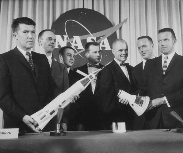 The Mercury 7 astronauts